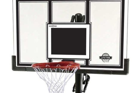 Lifetime Adjustable Basketball Hoop (54-Inch Polycarbonate)  IN Ground Basketball System Review